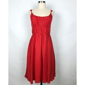 Anthro Moulinette Seours The Little Red Dress
